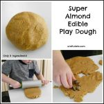 Super Almond Edible Play Dough