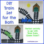 DIY Train Set for the Bath