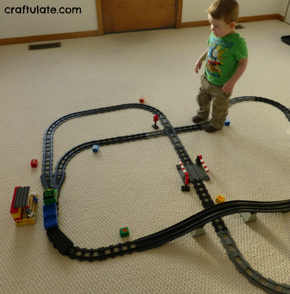 Train Track Number Hunt