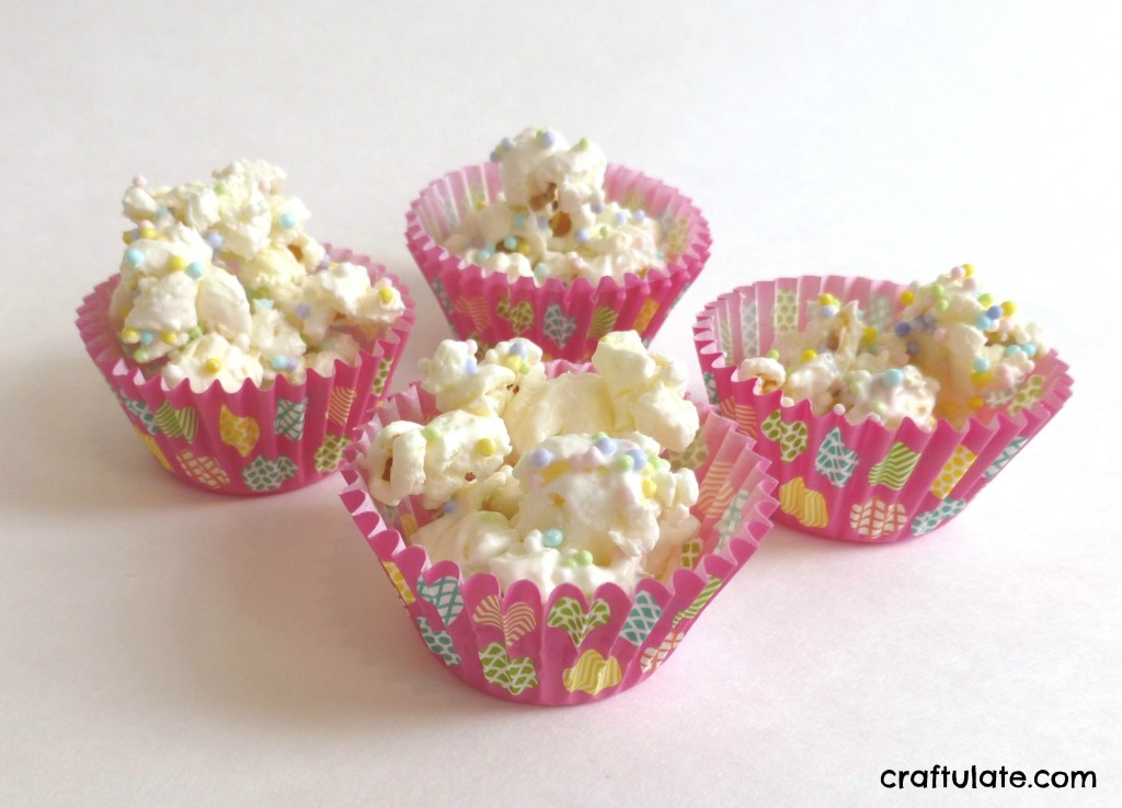 Easter Popcorn Treats