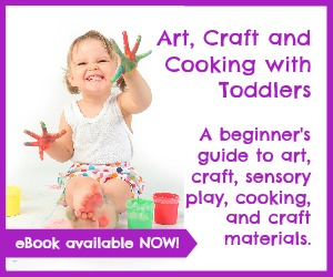 Art, Craft and Cooking with Toddlers - a Craftulate ebook