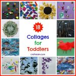 18 Collages for Toddlers