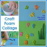 Craft Foam Collage