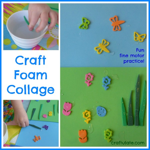 Craft Foam Collage