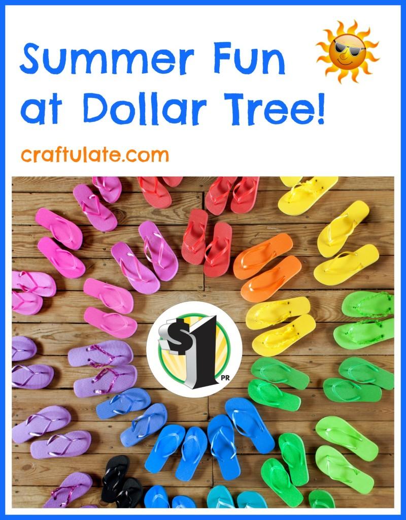 Summer Fun at Dollar Tree