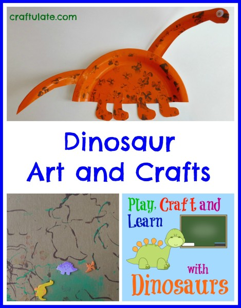Dinosaur Arts and Crafts