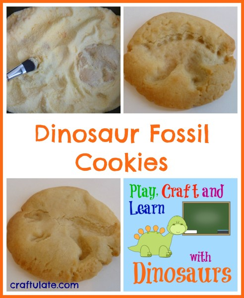 Dinosaur Fossil Cookies - Craftulate
