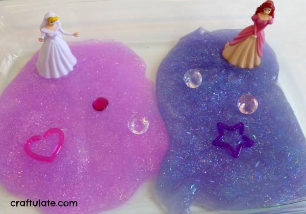 Princess Slime - a sparkly sensory experience
