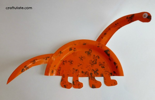 Dinosaur Art and Crafts : paper plate dinosaur - Pezcame.Com