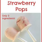 Frozen Strawberry Pops