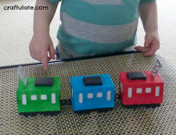 All Things Train! Crafts and activities with a train theme!