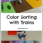 Color Sorting with Trains