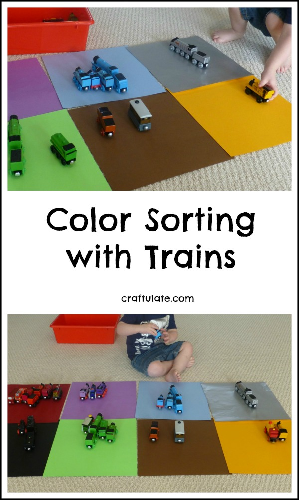 Colour Sorting with Trains
