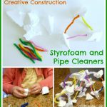 Creative Construction: Styrofoam and Pipe Cleaners