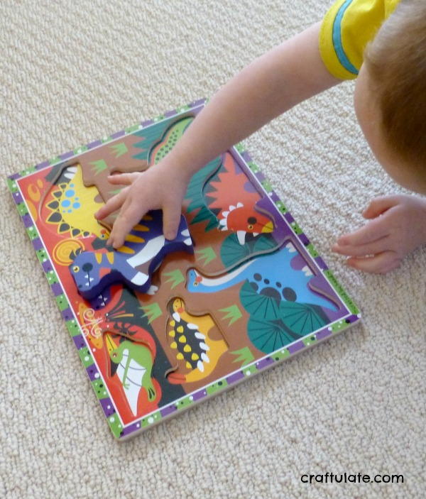Dinosaur Obstacle Course - fun gross motor activity!
