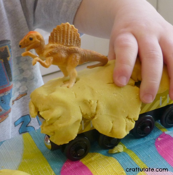 Dinosaur Play Dough Mats - four different styles to try!