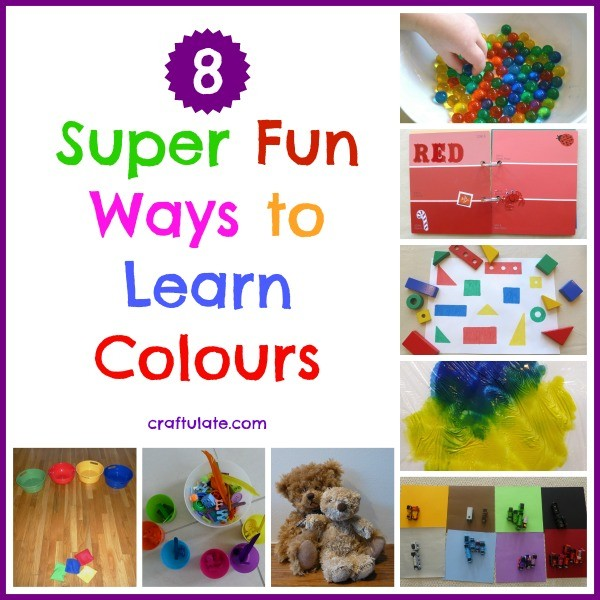 8 Super Fun Ways to Learn Colours