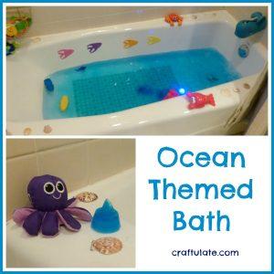 Ocean Themed Bath