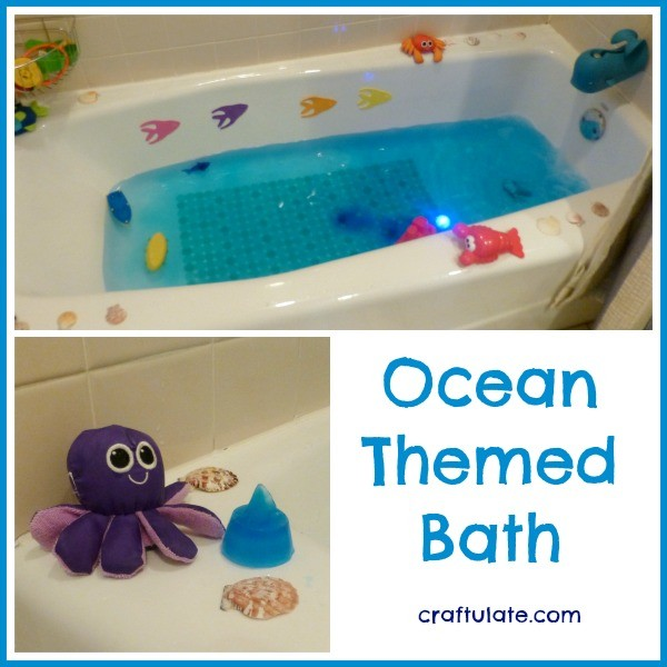 Ocean Themed Bath