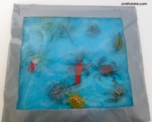 Ocean Sensory Bag Craftulate