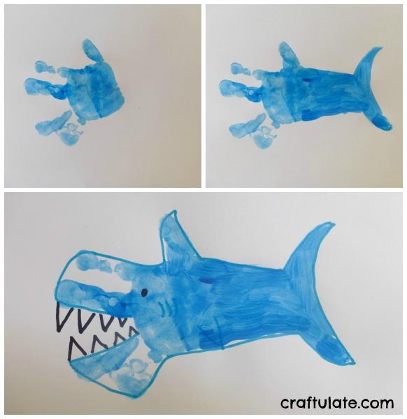 Shark Handprint