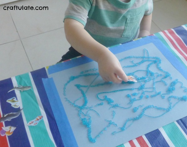 Ocean Theme Activities - art, crafts and activities for kids