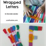 Thread-Wrapped Letters