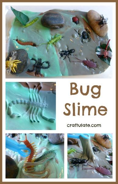 Bug Slime - ooey gooey insect sensory play