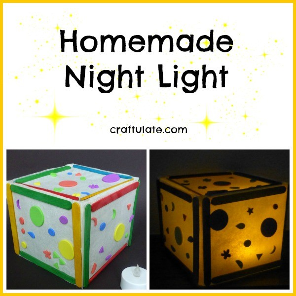 Homemade Night Light for kids