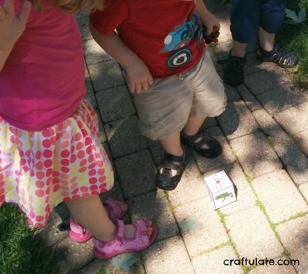 Animal Movement Game - gross motor fun for kids. With free printable.