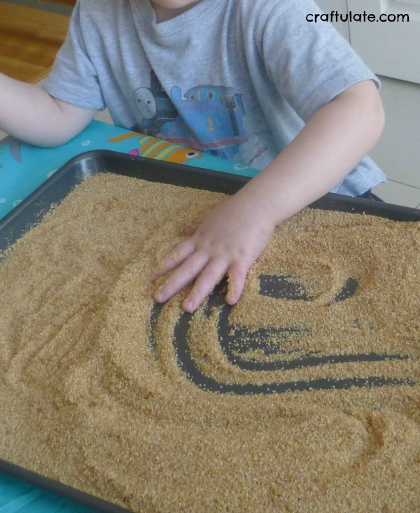 Child-Led Sensory Play with Sand