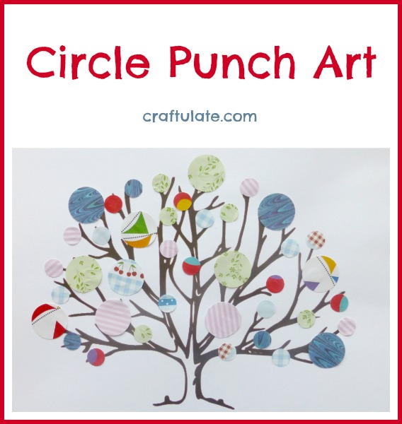 Circle Punch Art