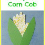 Handprint Corn Cob