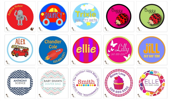 Back to School with Kidecals Labels