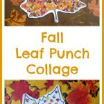 Fall Leaf Punch Collage