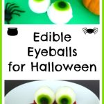 Edible Eyeballs for Halloween