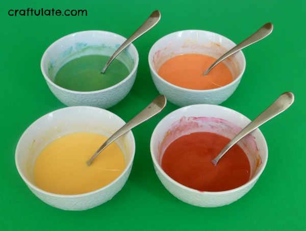 Sensory Oobleck for Fall