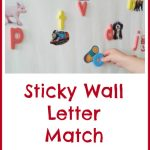 Sticky Wall Letter Match