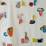 Sticky Wall Letter Match