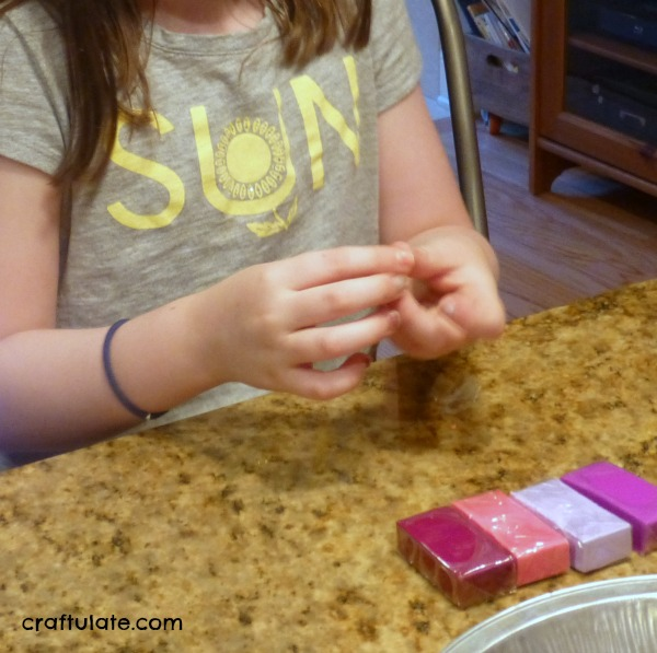 Marbled Clay Beads for Kids to Make