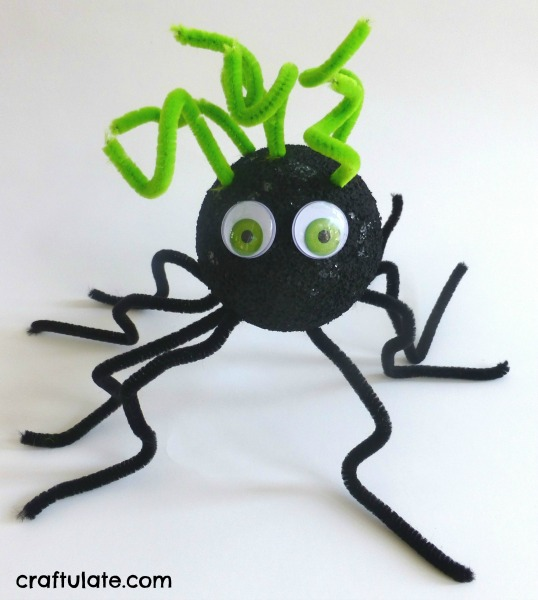 Spider Craft for Toddlers