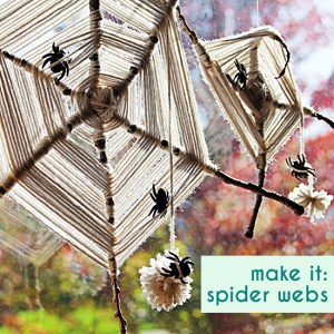 Spider Webs from Small for Big