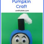 Thomas the Train Pumpkin Craft