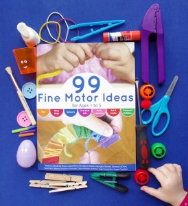 99 Fine Motor Ideas