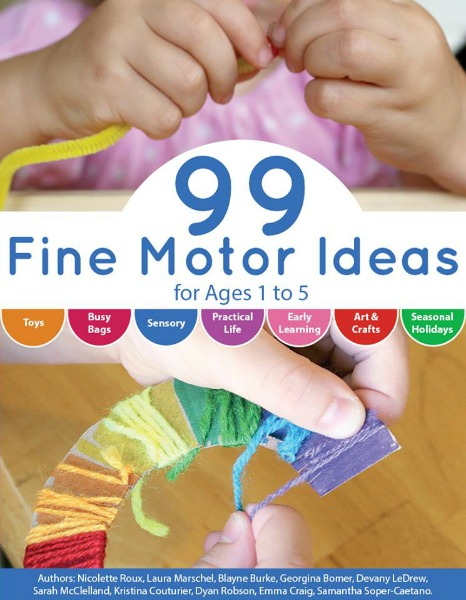 99 Fine Motor Ideas - the book