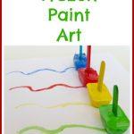 Frozen Paint Art