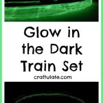 Glow in the Dark Train Set