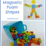 Magnetic Foam Shapes
