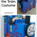 DIY Thomas the Train Costume