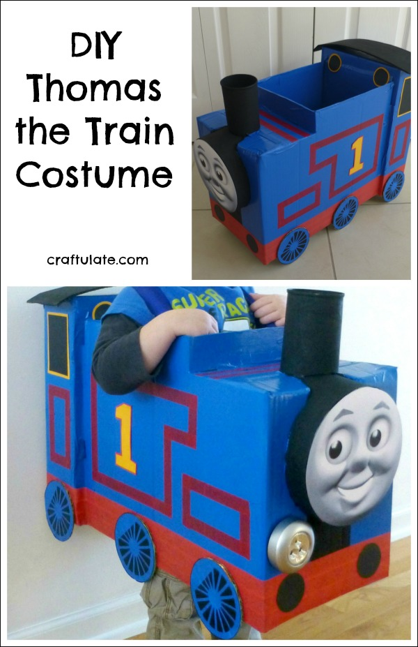 DIY Thomas the Train Costume - perfect for Halloween and parties!